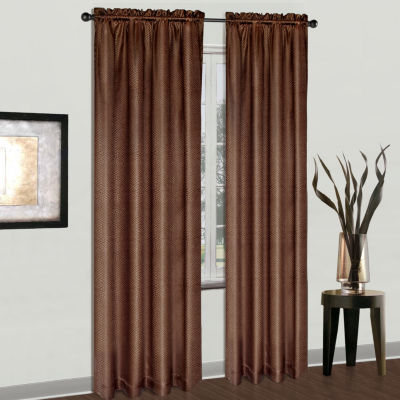 United Curtain Co. Cyndee Rod-Pocket Curtain Panel