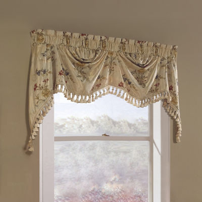 United Curtain Co. Jewel Rod-Pocket Lined Valance