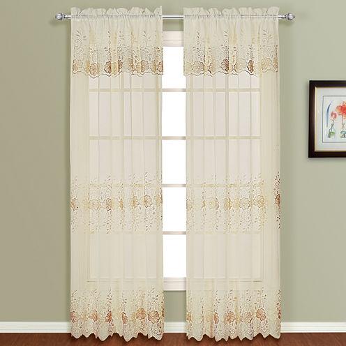 Marianna Rod-Pocket Curtain Panel