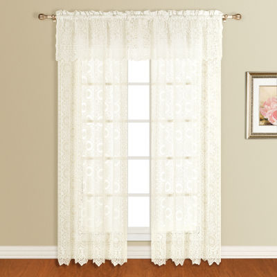 "United Curtain Montecarlo 56""X16"" Rod-Pocket Valance"