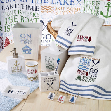 jcpenney.com | Avanti® Lake Words Bath Collection