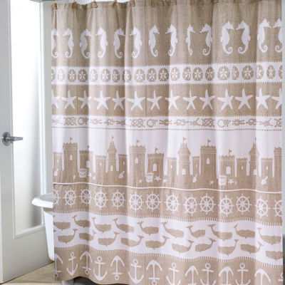 Avanti® Sea & Sand Shower Curtain