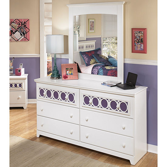 Signature Design By Ashley Zayley Dresser And Mirror