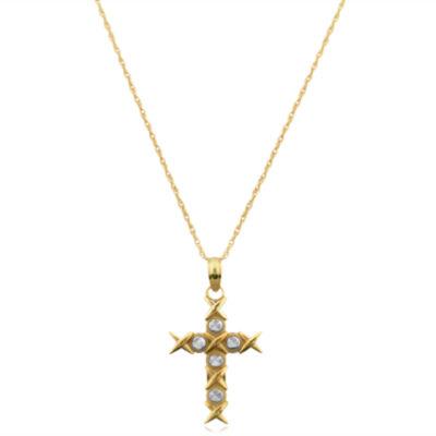 Womens Cross Pendant