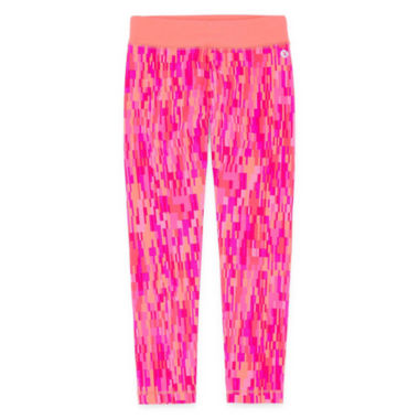 Xersion Pattern Jersey Leggings - Preschool Girls