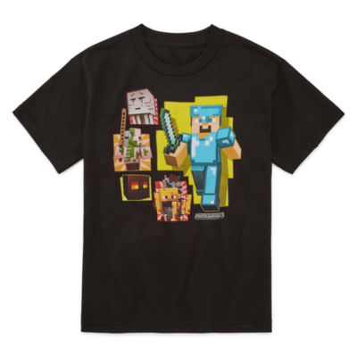 Minecraft Graphic T-Shirt-Big Kid Boys