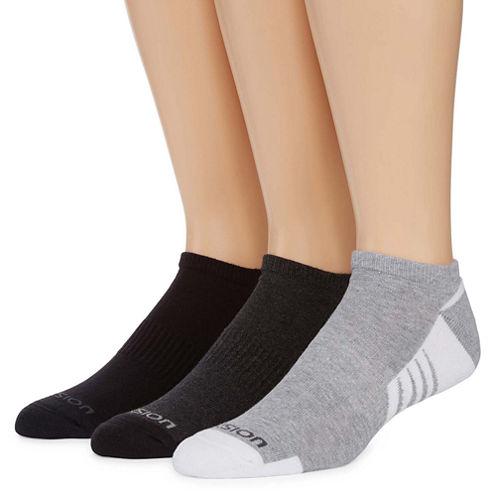 Xersion 3PK Shield Protect Low Cut Socks - Big & Tall