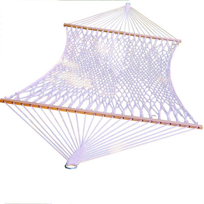 Double Cotton Rope Hammock