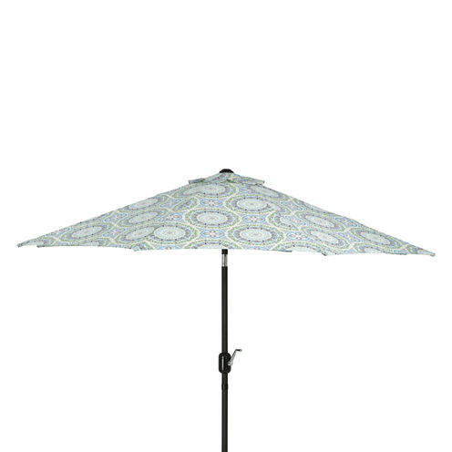 Pillow Perfect 9-Foot Market Patio Umbrella