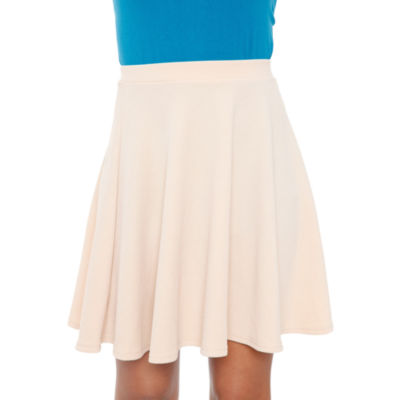 White Mark Heidi Flared Skirt