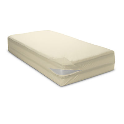 BedCare Organic Cotton Allergy and Bed Bug Proof 12inch Mattress Cover