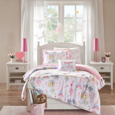Penelope The Poodle Comforter Set