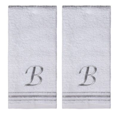 Saturday Knight 2-Pack B Monogram Hand Towel
