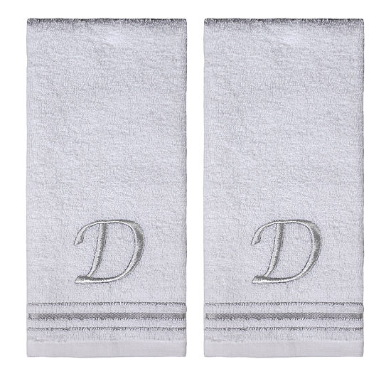 Saturday Knight 2-Pack D Monogram Hand Towel