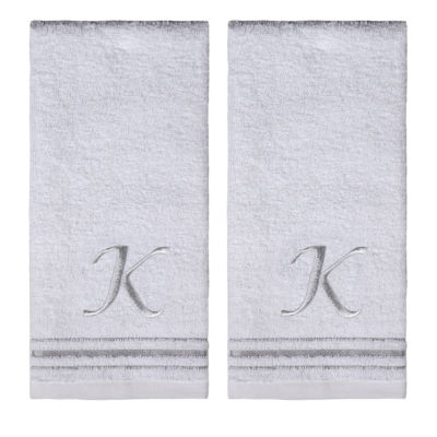 Saturday Knight 2-Pack K Monogram Hand Towel