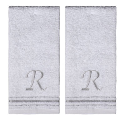 Saturday Knight 2-Pack R Monogram Hand Towel