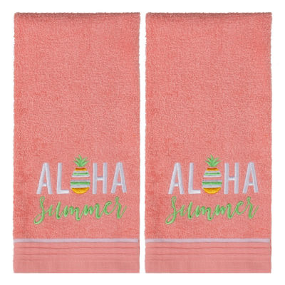 Saturday Knight 2-Pack Aloha Hand Towel