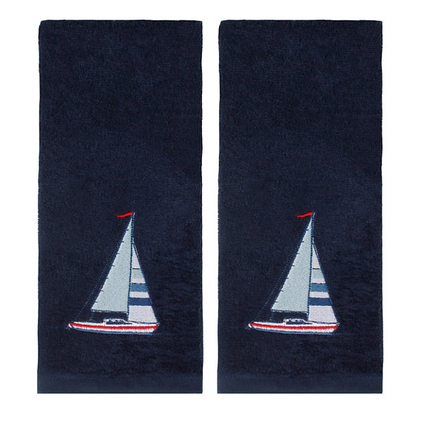Saturday Knight 2-Pack Sailboat Hand Towel
