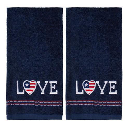 Saturday Knight 2-Pack Love Hand Towel Set