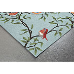 Liora Manne Ravella Birds On Branches Hand Tufted Rectangular Indoor/Outdoor Rugs
