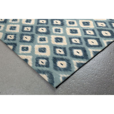 Liora Manne Visions Ii Ikat Diamonds Square Rugs