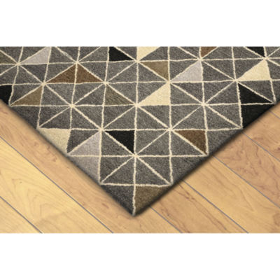 Liora Manne Inca Triangle Hand Tufted Rectangular Runner