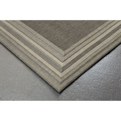 Liora Manne Terrace Etched Rectangular Indoor/Outdoor Area Rug