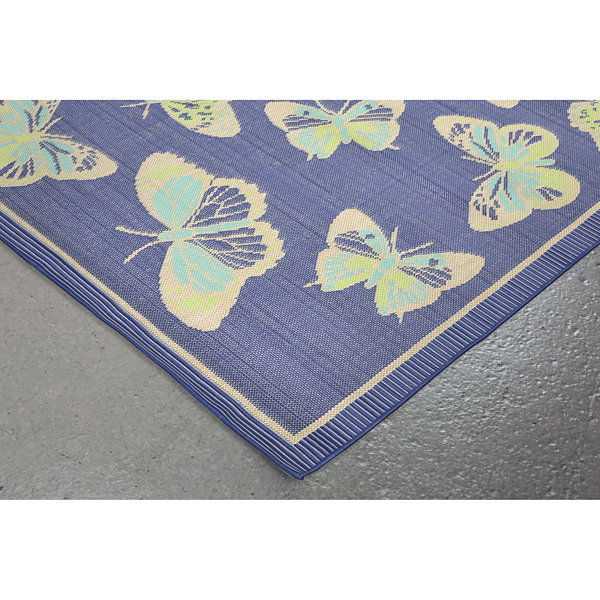 Liora Manne Playa Butterfly Rectangular Runner