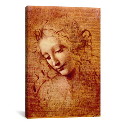 Icanvas Female Head Canvas Art