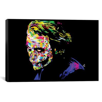 Icanvas Joker Ii Canvas Art