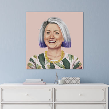 Icanvas Hillary Clinton Canvas Art