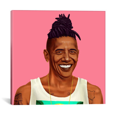 Icanvas Barack Obama Canvas Art