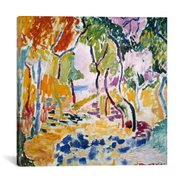 Icanvas Landscape Near Collioure Canvas Art