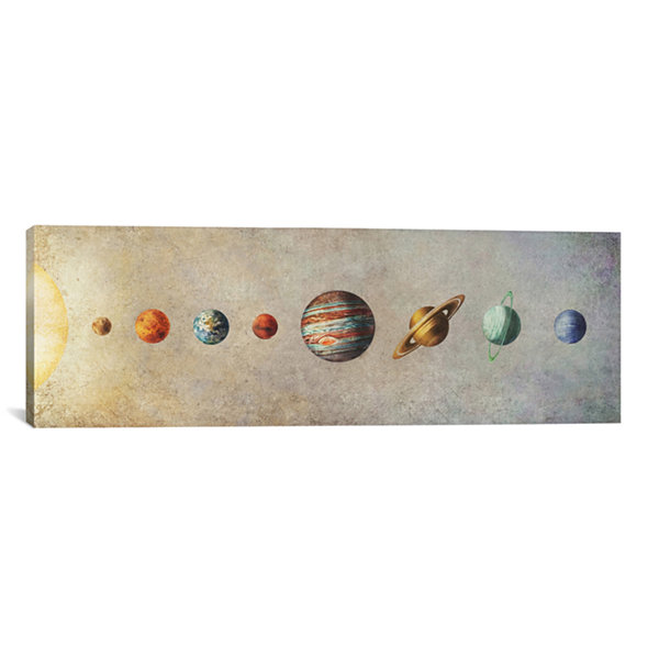 Icanvas The Solar System Canvas Art