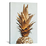 Icanvas The Gold Pineapple Canvas Art