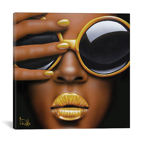 Icanvas Goldilips Canvas Art
