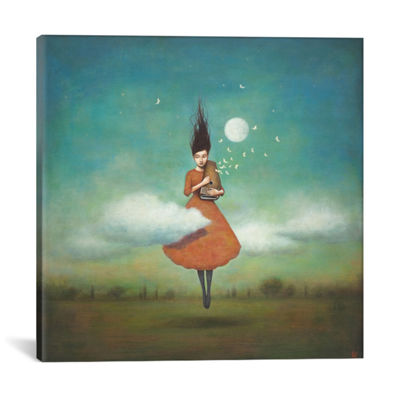 Icanvas High Notes For Low Clouds Canvas Art