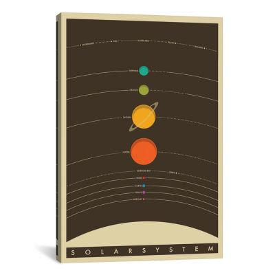 Icanvas Solar System Canvas Art
