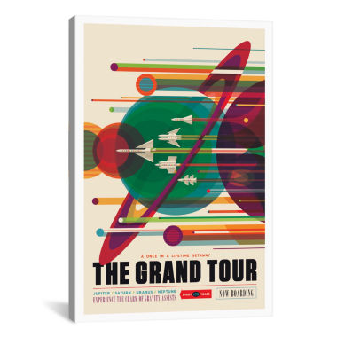 Icanvas Future Visions Series: The Grand Tour Canvas Art