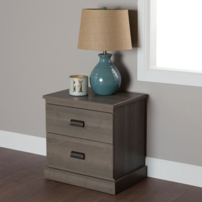Gloria 2-Drawer Nightstand