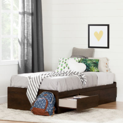 South Shore Fynn Twin Mates 3-Drawer Bed