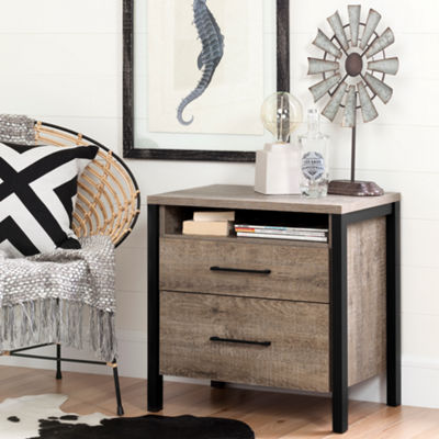 Munich 2-Drawer Nightstand