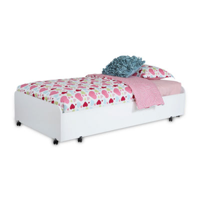 South Shore Mobby Twin Trundle Bed On Casters
