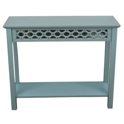 Decor Therapy Mirrored Mirrored Console Table