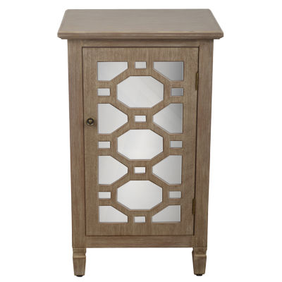 Decor Therapy Mirrored Accent Chest