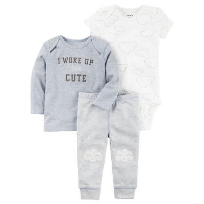 Carter's Little Baby Basics Boy Knee Art Set