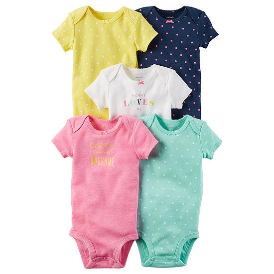 Carter's Baby Girls 5-pc. Bodysuit