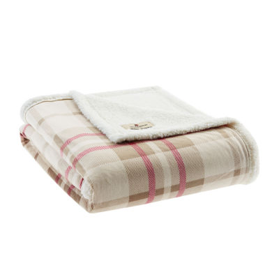 Woolrich Plush To Berber Throw