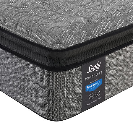 Sealy Posturepedic Humbolt Ltd Cushion Firm Pillow Top - Mattress Only, Full, White