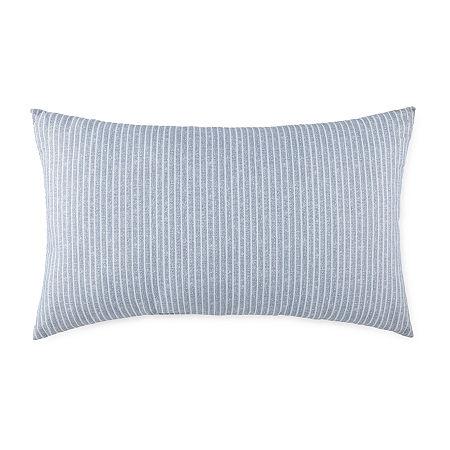 Linden Street Rectangular Outdoor Pillow, One Size , Blue